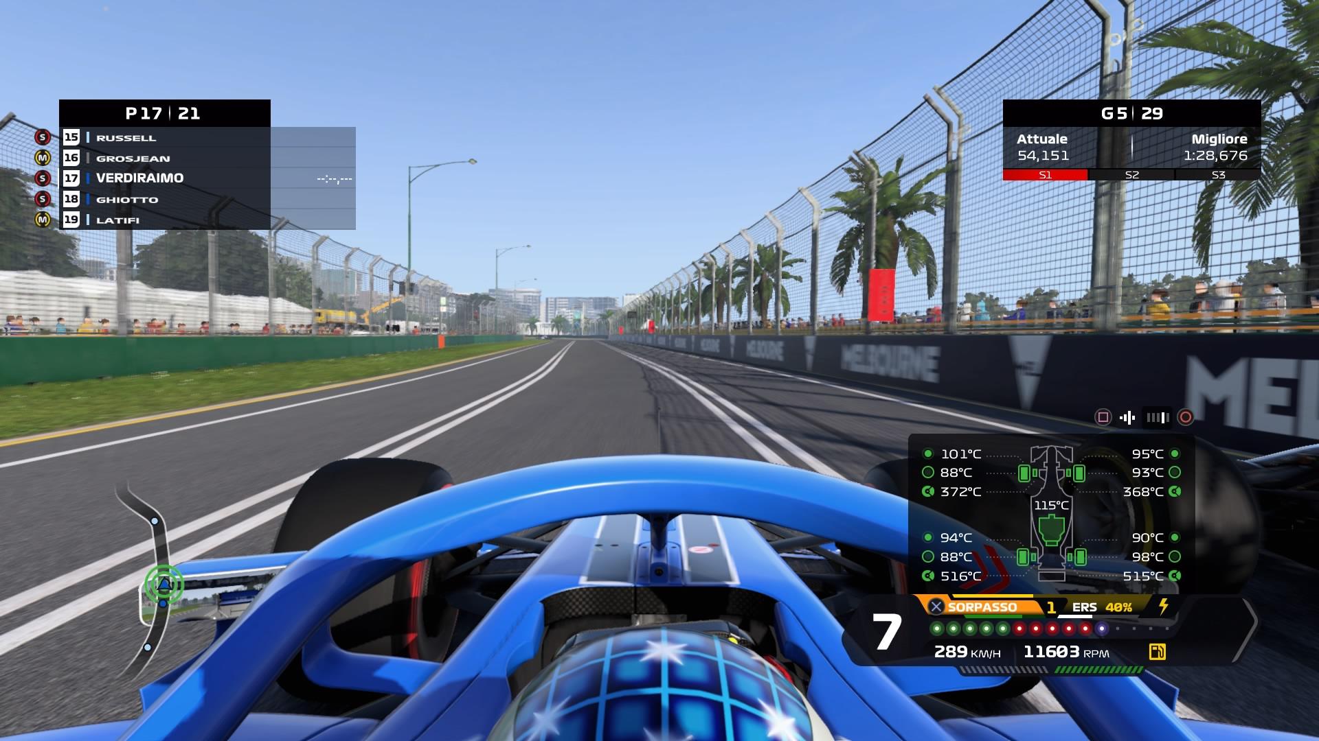 F1 2020 cockpit