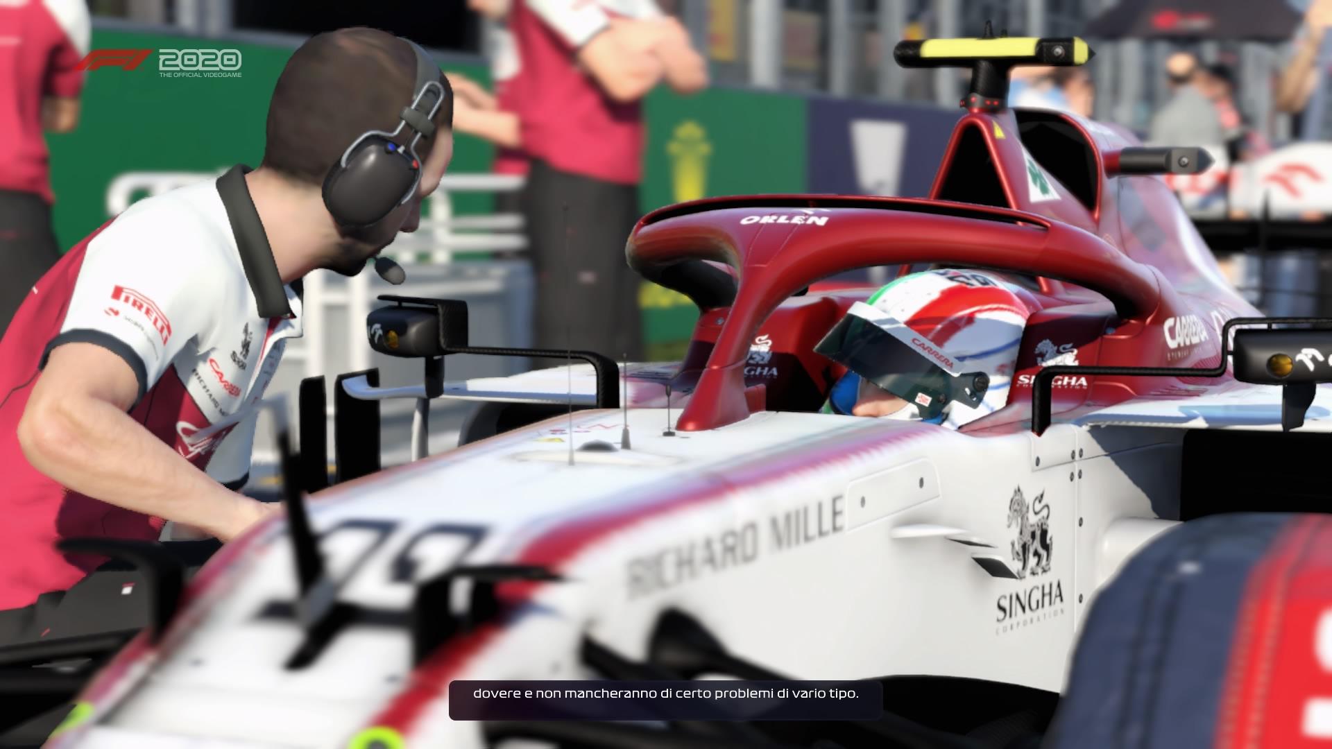 F1 2020 grafica tech princess racing