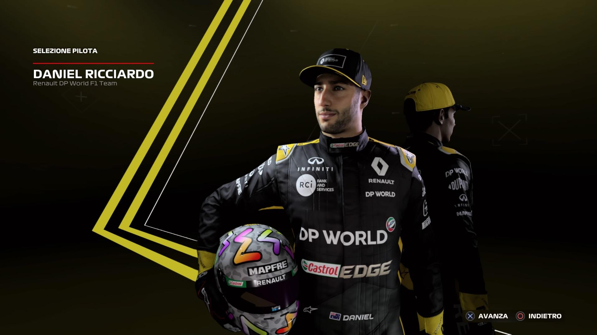 F1 2020 ricciardo