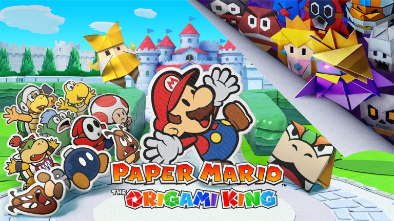 Paper mario the origami king nuovo trailer
