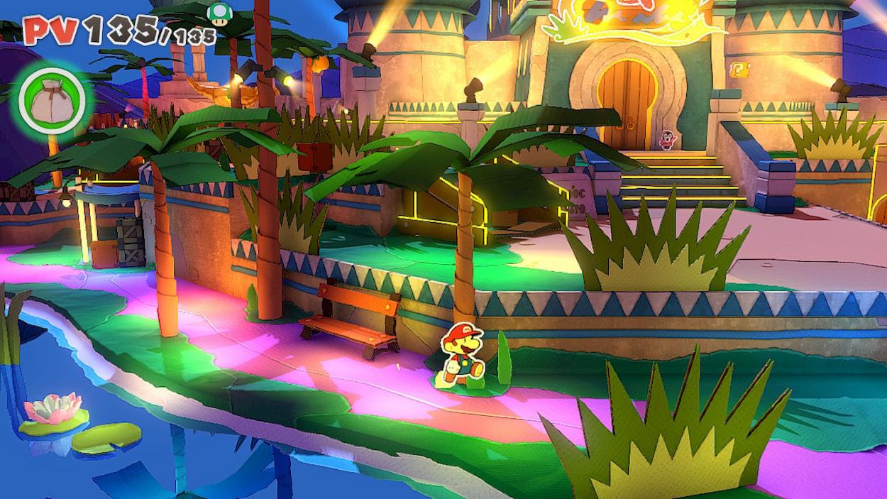 Paper Mario non è mai stato così tridimensionale thumbnail