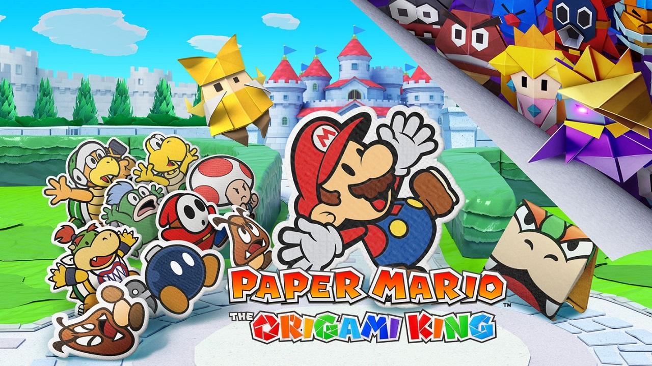 Paper Mario: The Origami King, ecco il video iniziale thumbnail