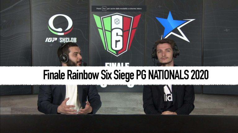Rainbow Six Siege PG NATIONALS 2020 finale