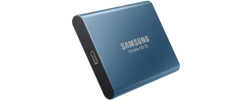 SSD esterno samsung T5