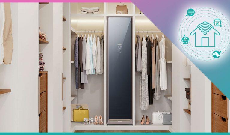 La recensione di Samsung AirDresser, l'armadio smart che igienizza i vestiti