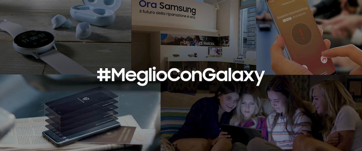 Samsung racconta i suoi dispositivi con la campagna Meglio con Galaxy thumbnail