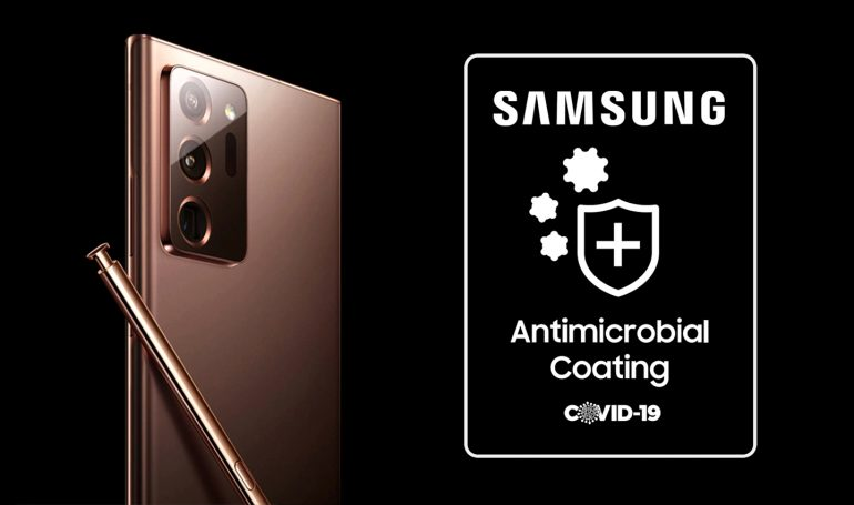Samsung cover antimicrobiche