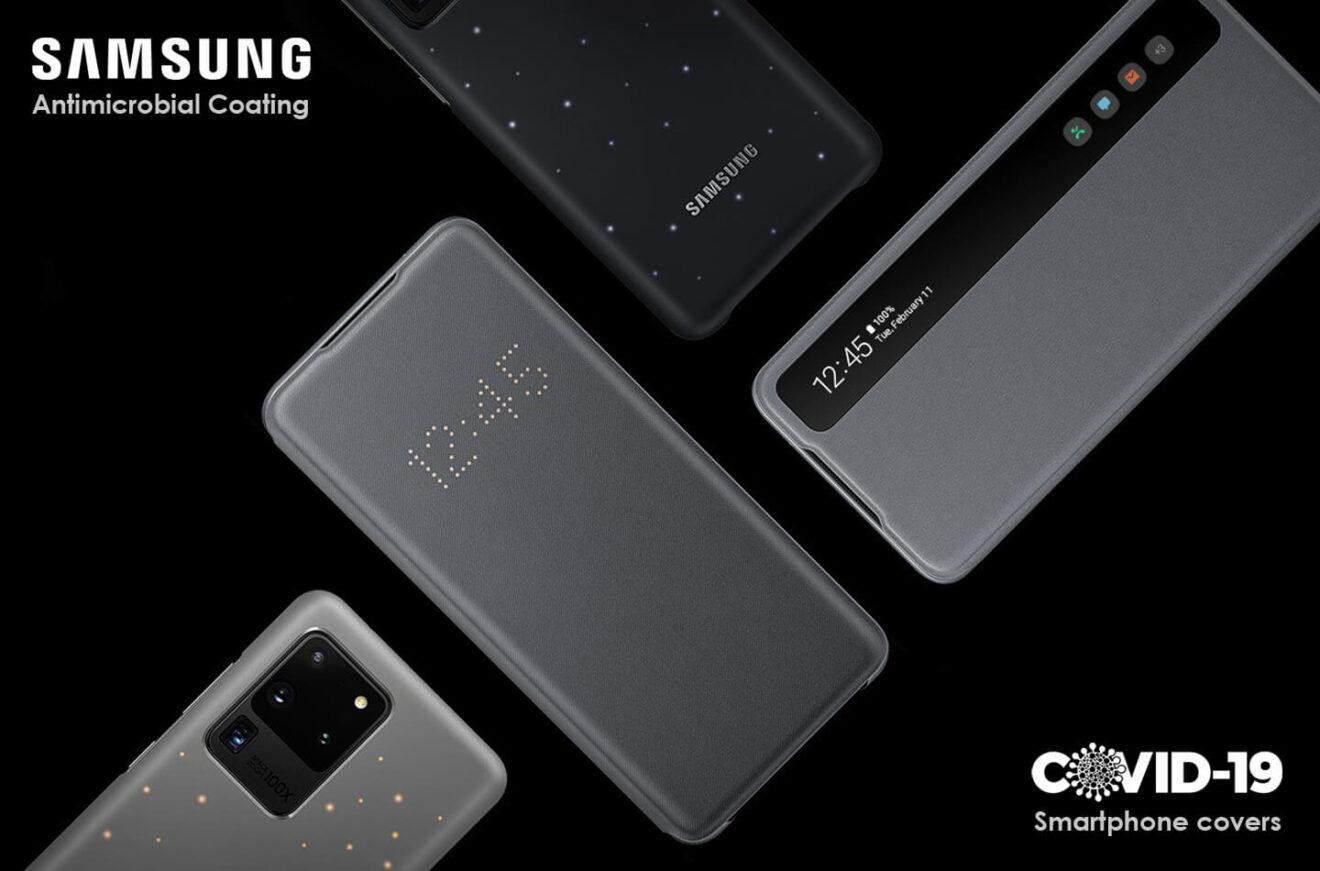 Samsung: cover antimicrobiche per combattere il Covid-19 thumbnail