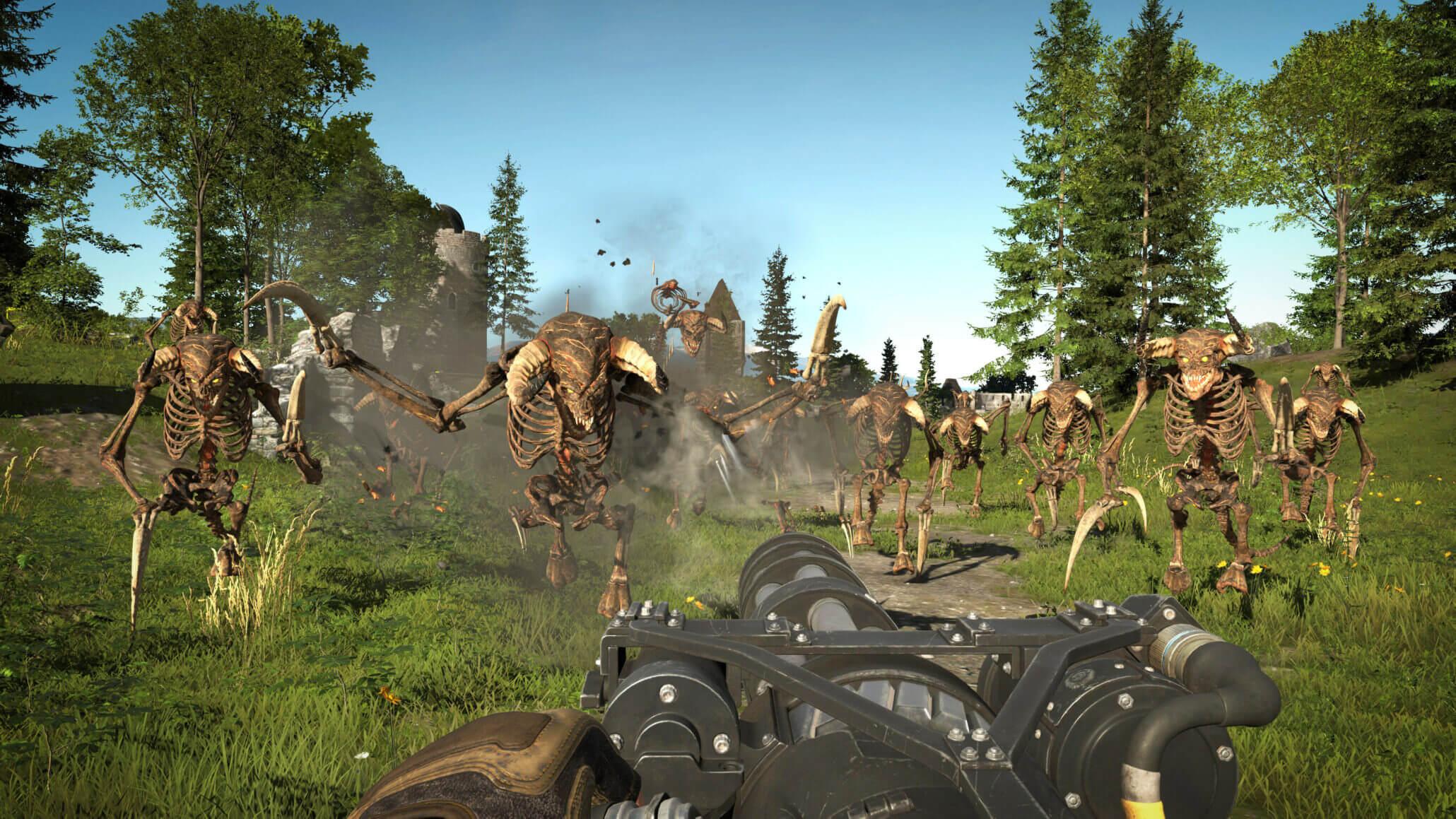 Disponibile un nuovo e violento gameplay per Serious Sam 4 thumbnail