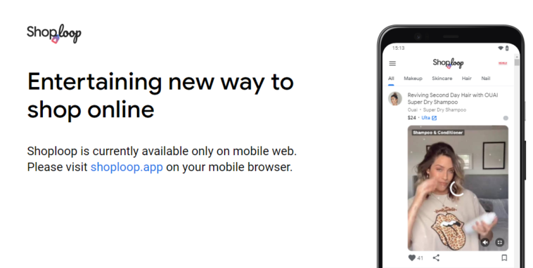 Shoploop, il nuovo modo di fare shopping online con Google thumbnail