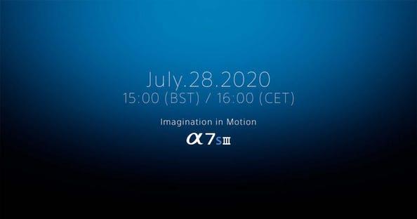Sony a7S III presentazione