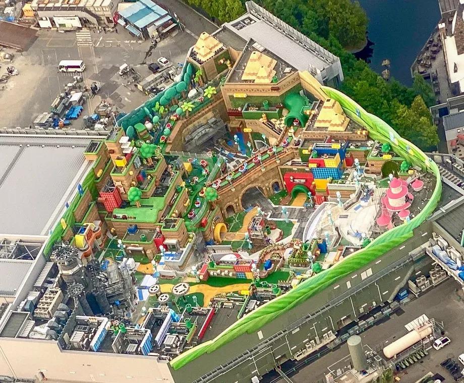 Super Nintendo World Japan immagini