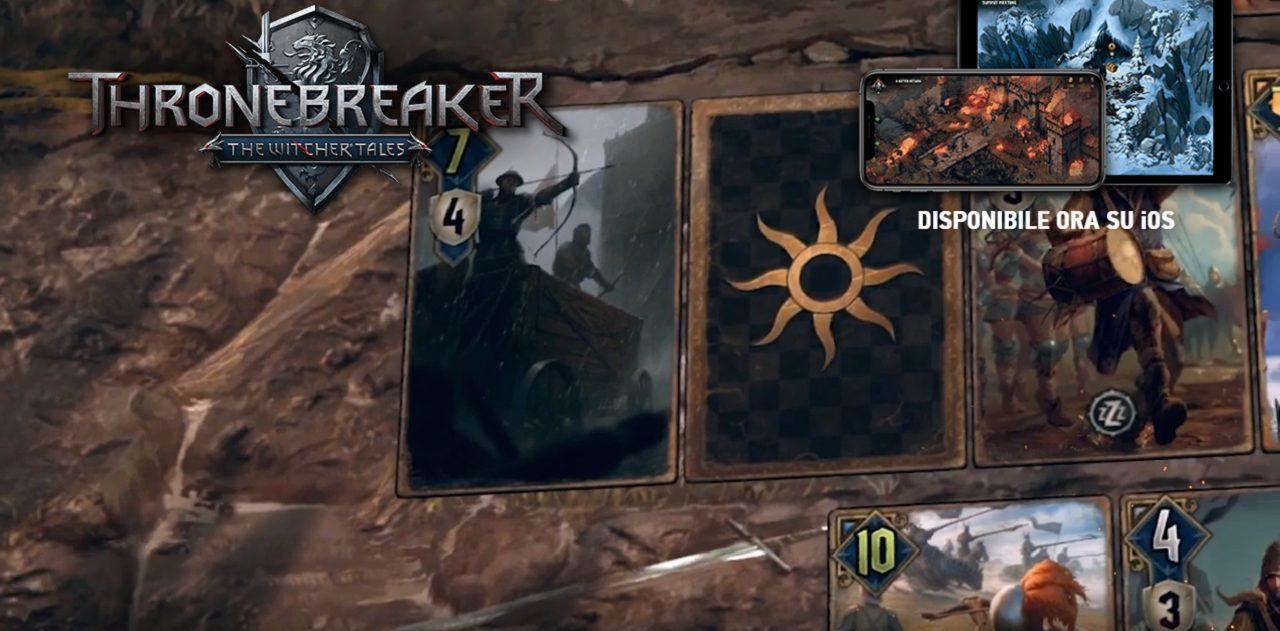 Thronebreaker: The Witcher Tales sbarca su iOS thumbnail