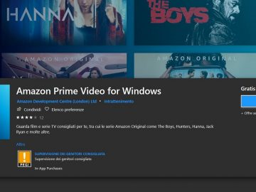 amazon prime video app windows