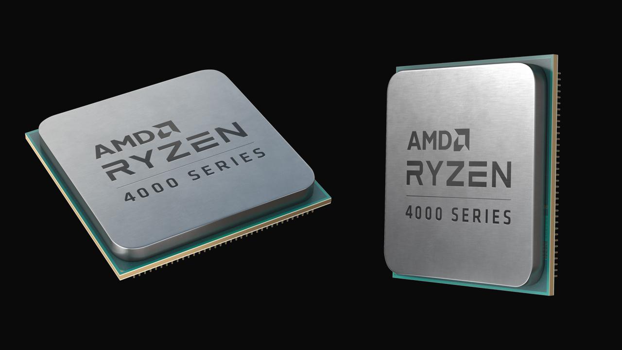 AMD presenta i nuovi processori Ryzen della serie 4000G per Desktop PC thumbnail