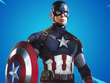 capitan america fortnite shop