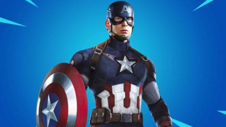capitan america fortnite shop