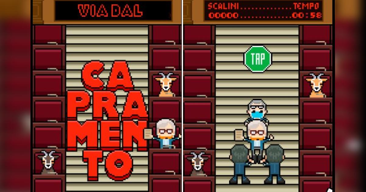 """Il tormentone """"Capra, Capra, Capra!"""" diventa un videogioco thumbnail"""