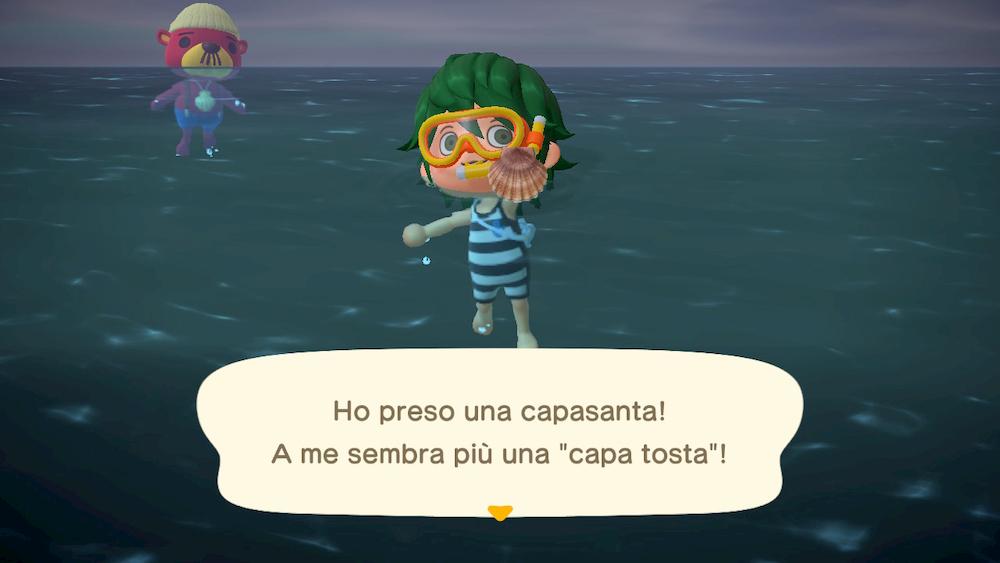 creature marine Animal Crossing Pasqualo