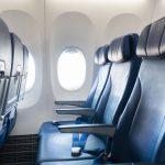 distanziamento sociale aereo united airlines