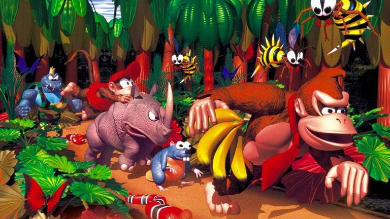 Donkey Kong Country Nintendo