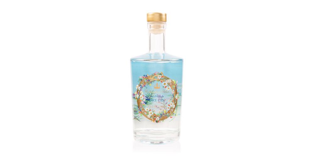gin Buckingham Palace Regina Elisabetta bottiglia