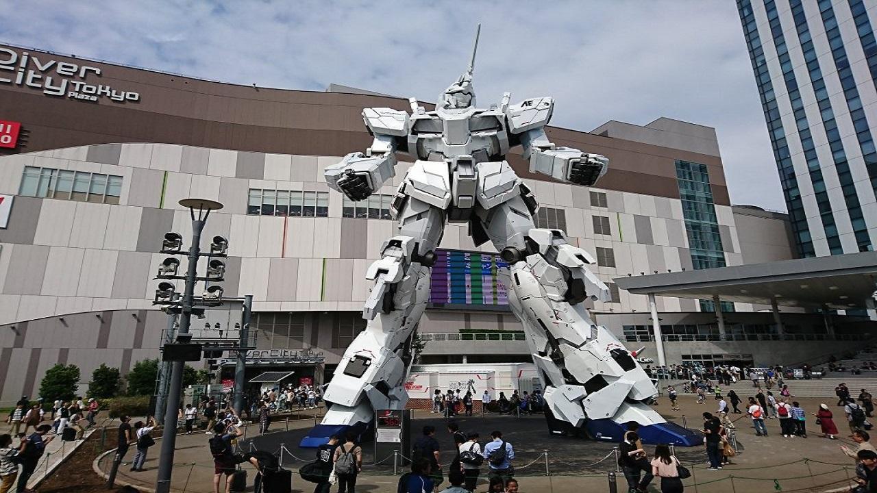 Gundam arriva anche a Shanghai thumbnail