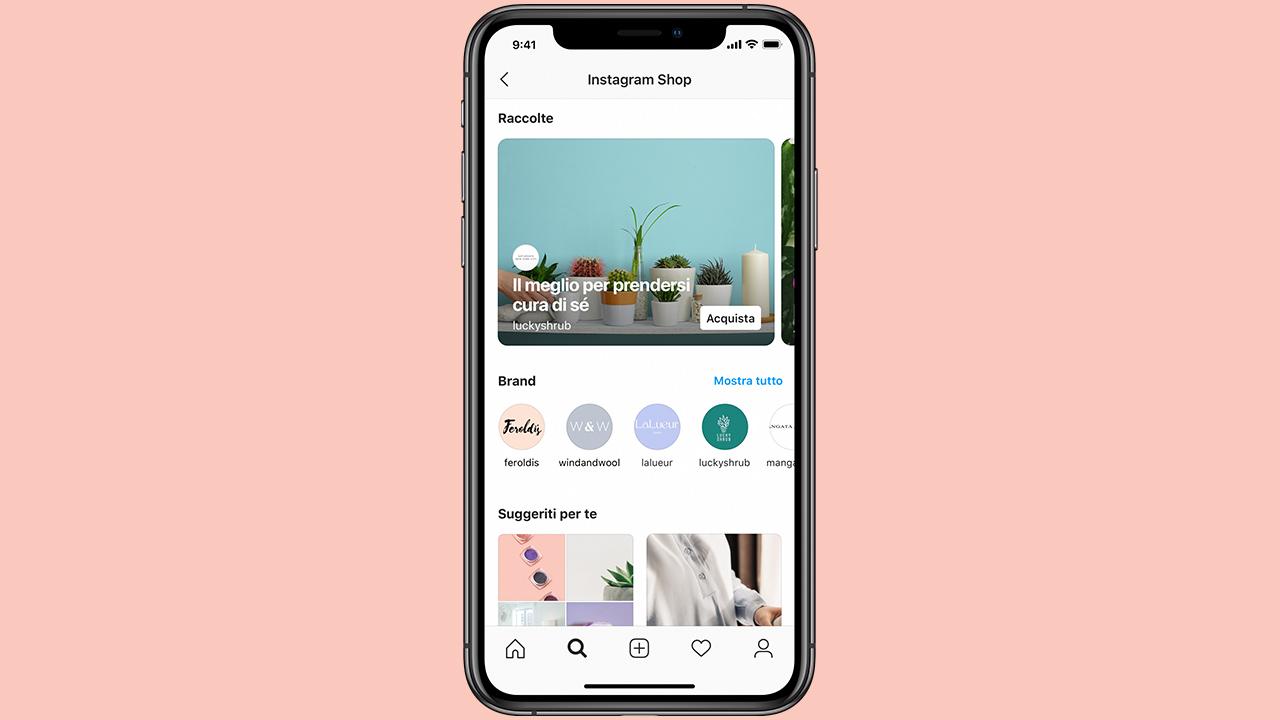 Con Instagram Shop lo shopping si fa ancora più social thumbnail