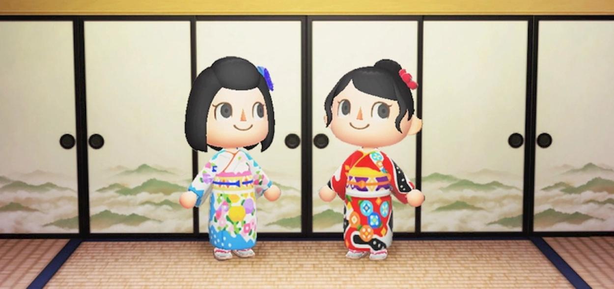 Arrivano i kimono di alta moda su Animal Crossing thumbnail