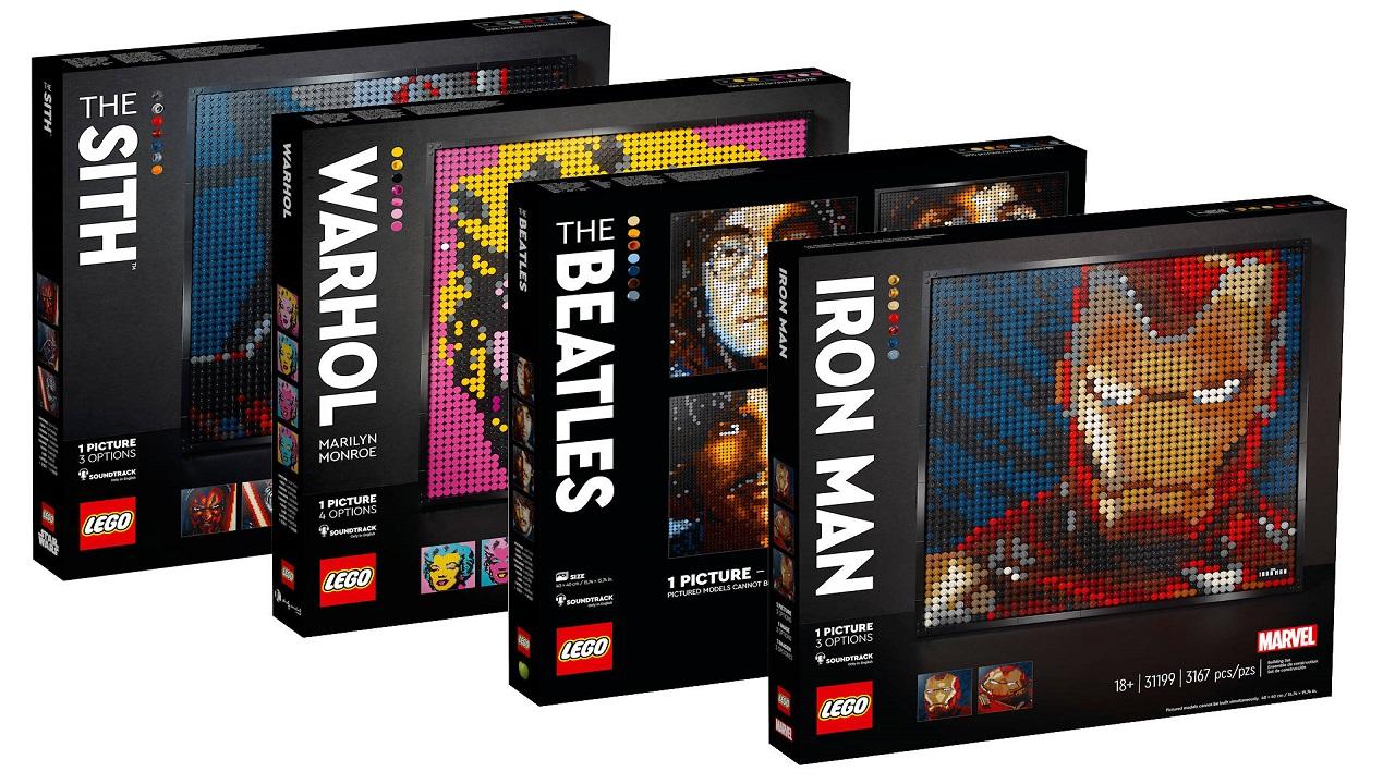 LEGO reinterpreta la Pop-Art thumbnail