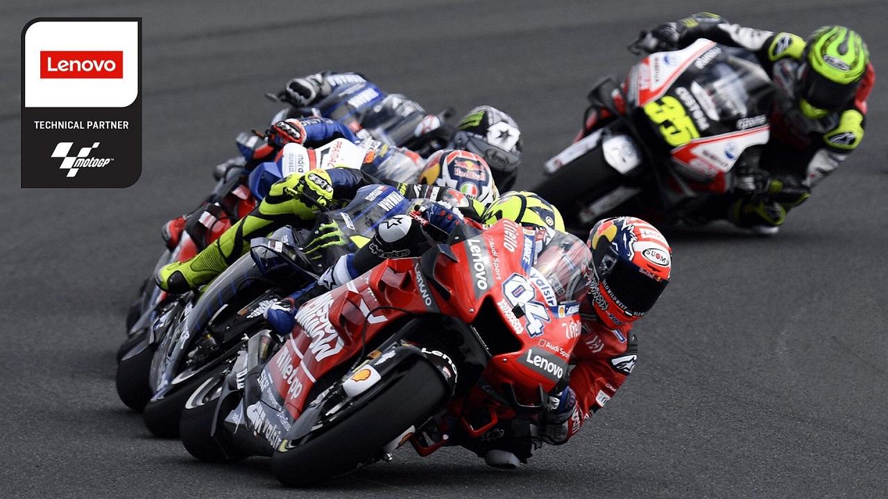 Lenovo sarà il title sponsor del Gran Premio di San Marino della Moto GP thumbnail