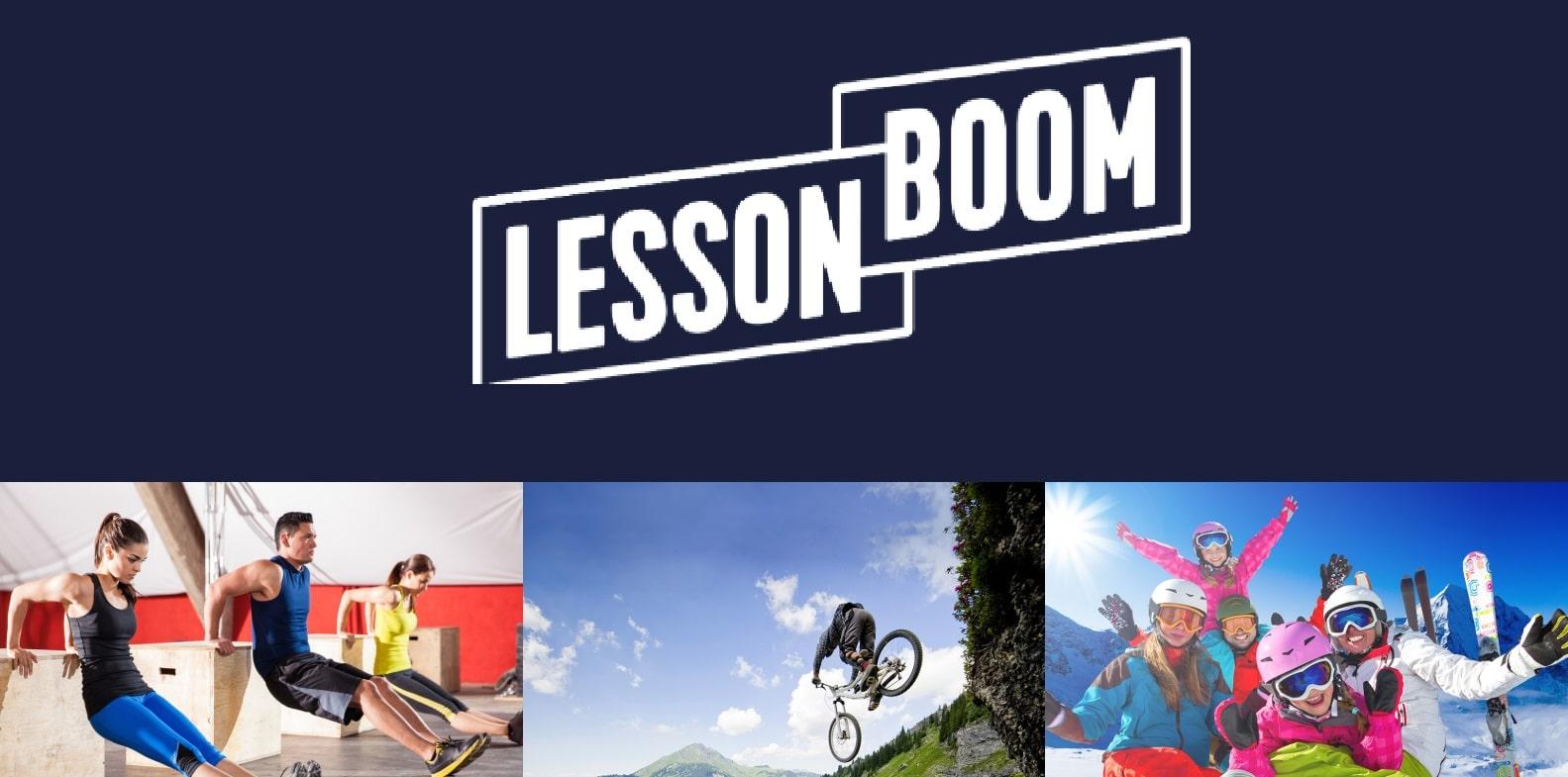 Lessonboom: l'app per imparare a sciare aggiunge mountain bike e fitness thumbnail