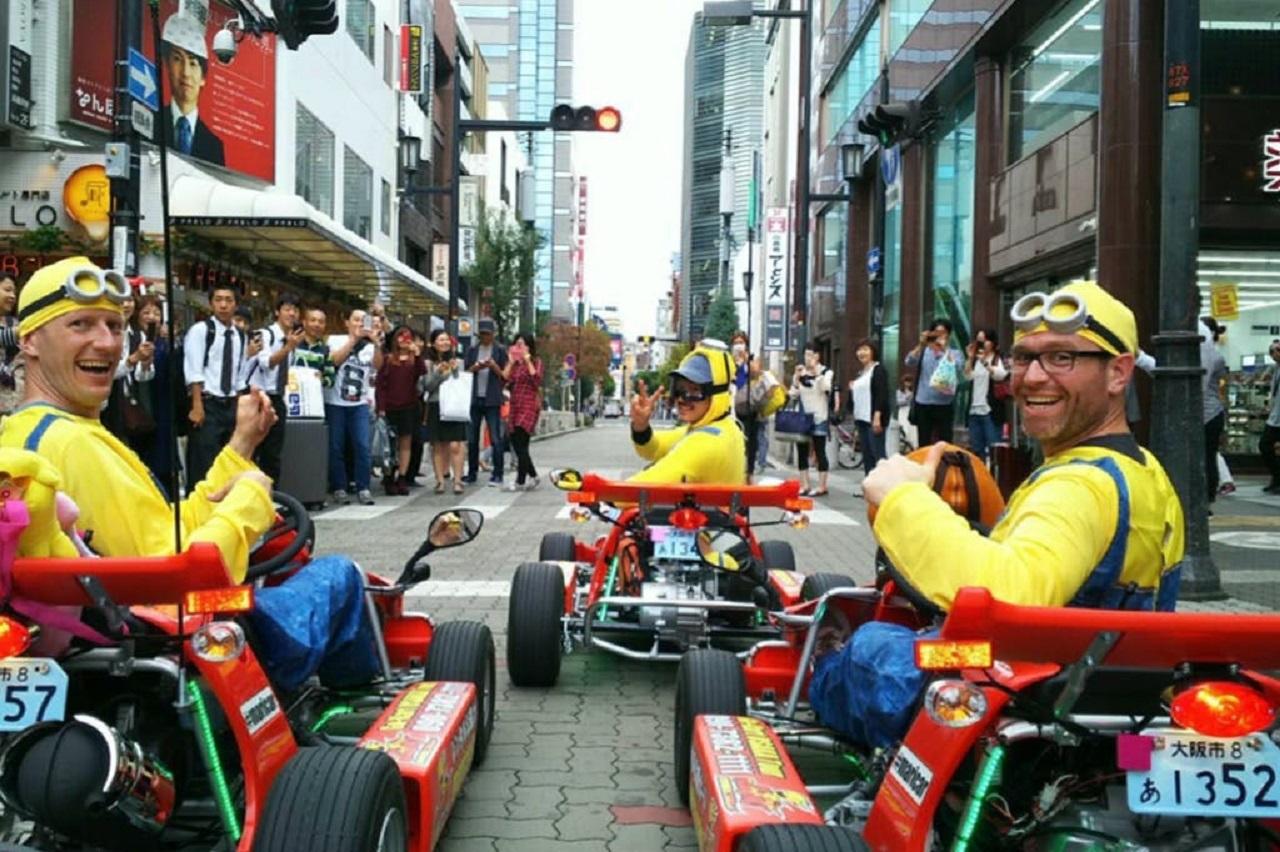 """Il Mario Kart """"reale"""" non trova fondi thumbnail"""