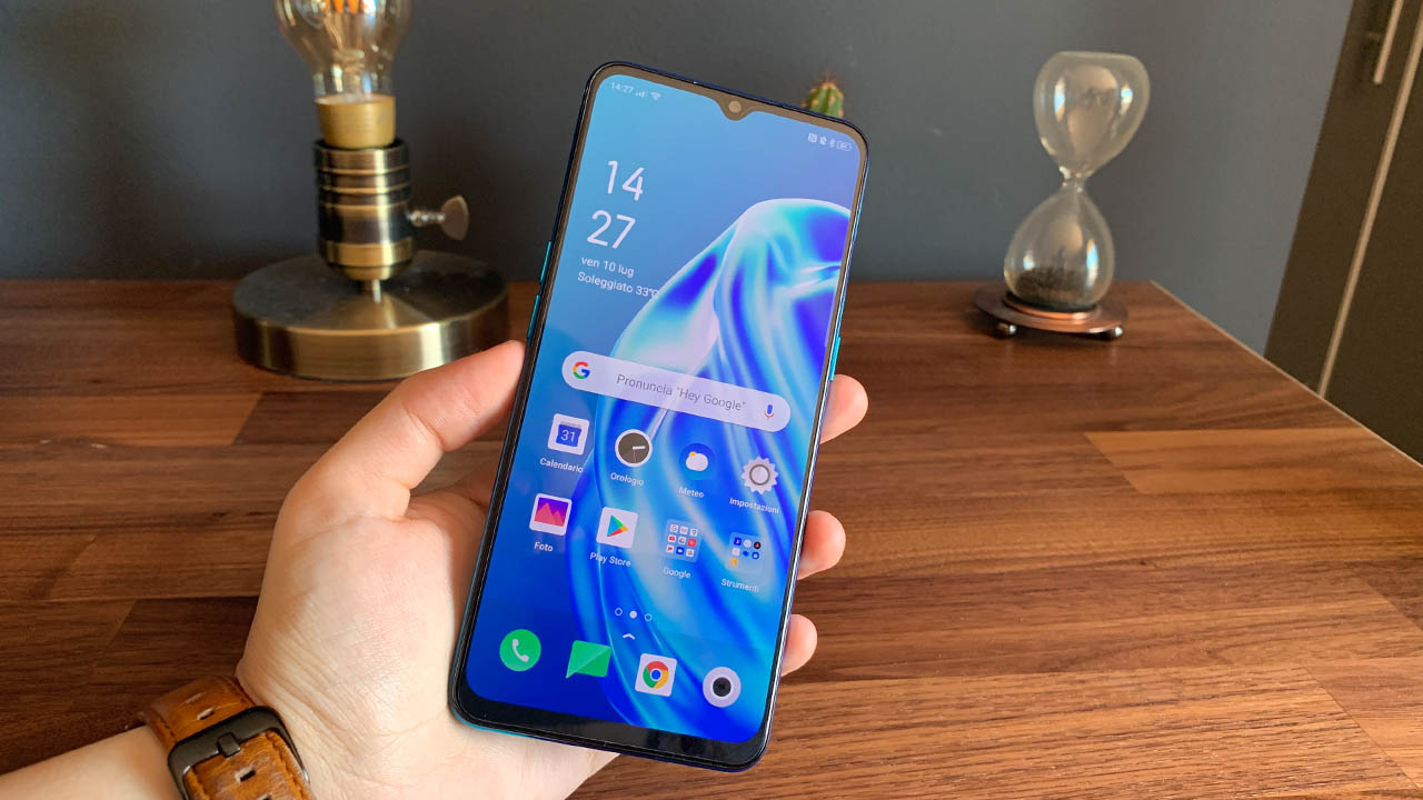 oppo a91 recensione front