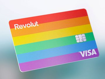 Carta revolut rainbow