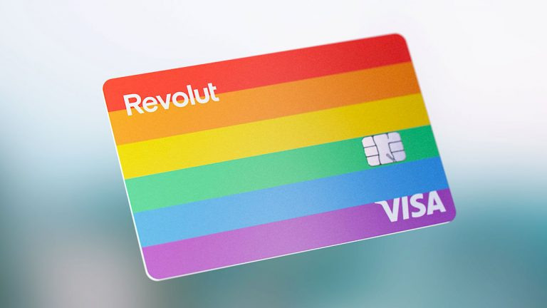 Carta revolut rainbow