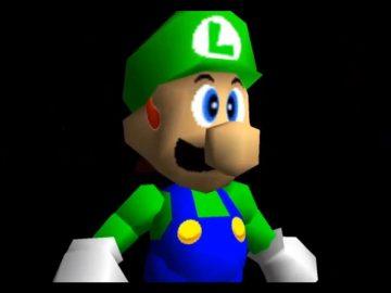 segreti nintendo Luigi super mario 64