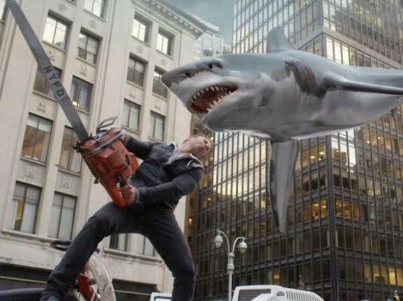 sharknado squalo mike tyson