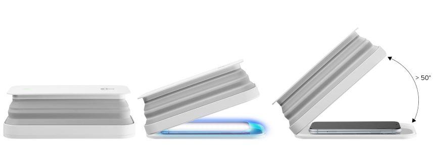 sterilizzatore smartphone cellularline hi-gens