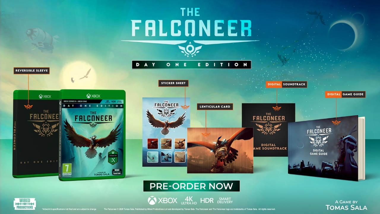 The Falconeer arriverà su Xbox Series X al Day One della console thumbnail