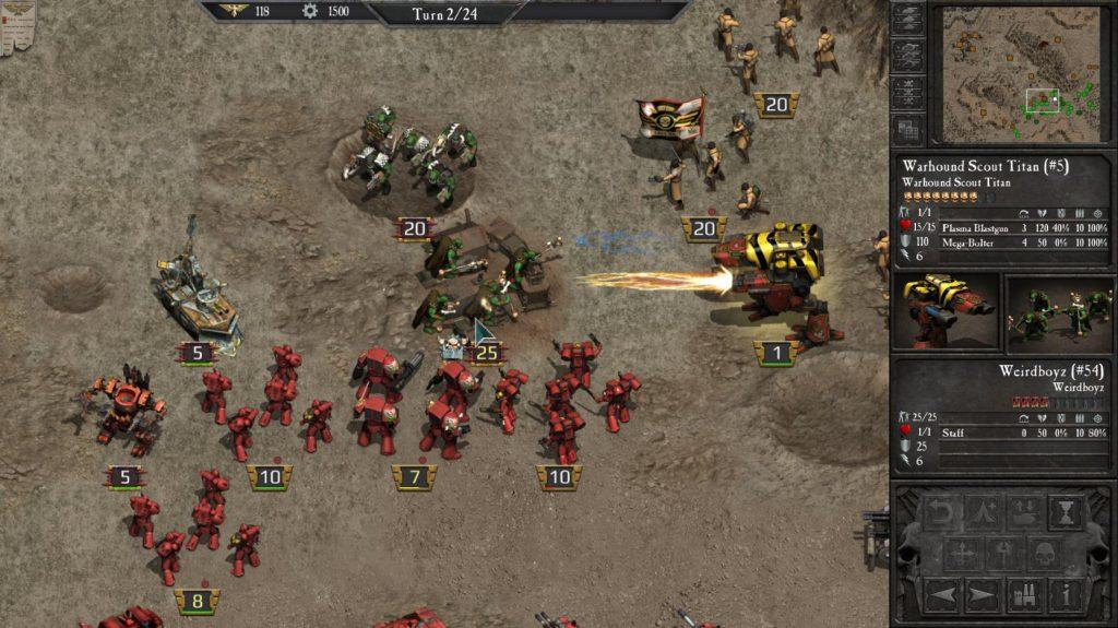 warhammer 40000 slitherine