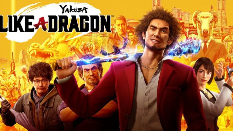 yakuza like a dragon trailer