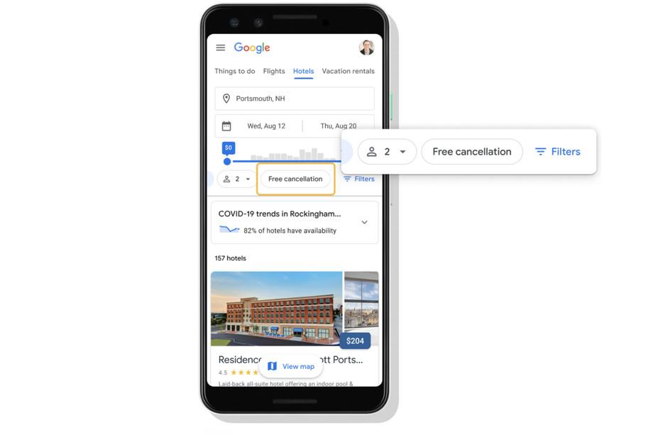 Google Travel introduce gli aggiornamenti sulla pandemia thumbnail