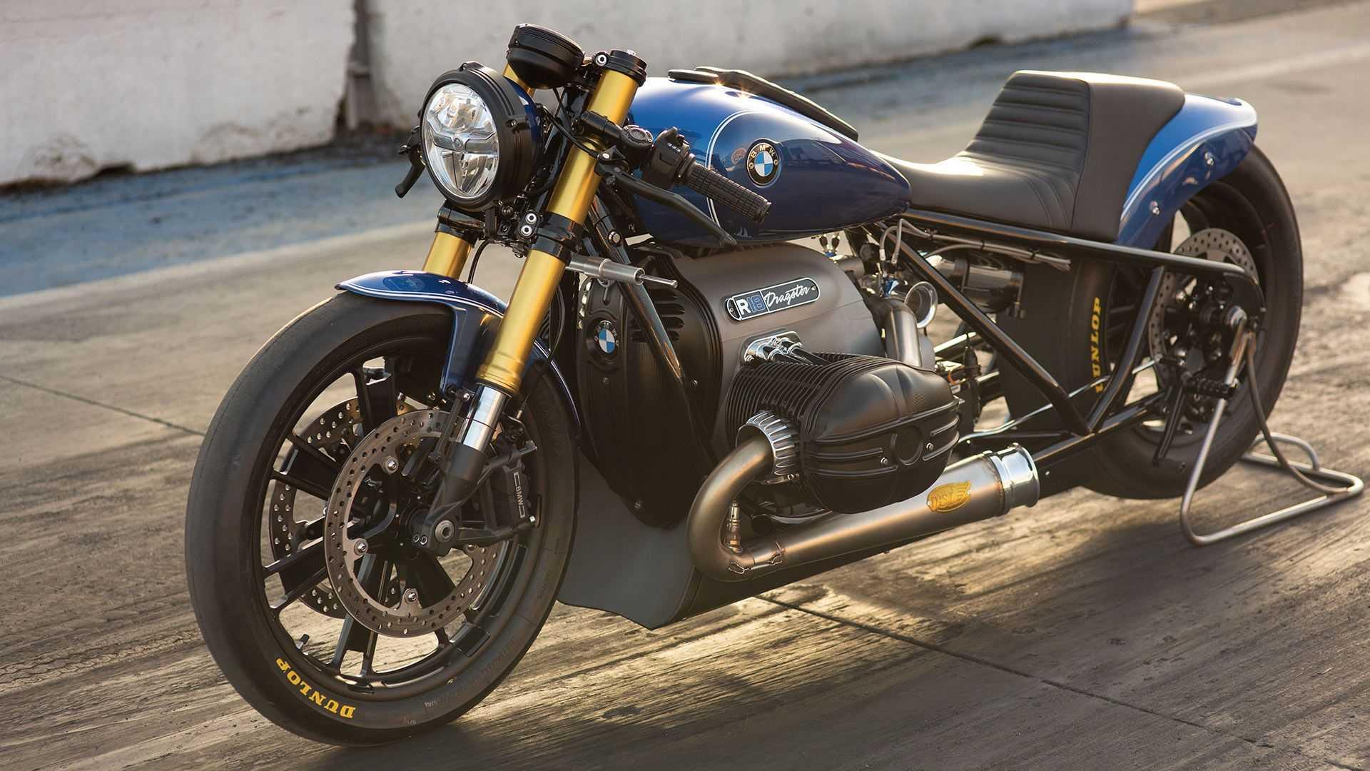 Il designer Roland Sands trasforma la BMW R 18 in una dragster thumbnail