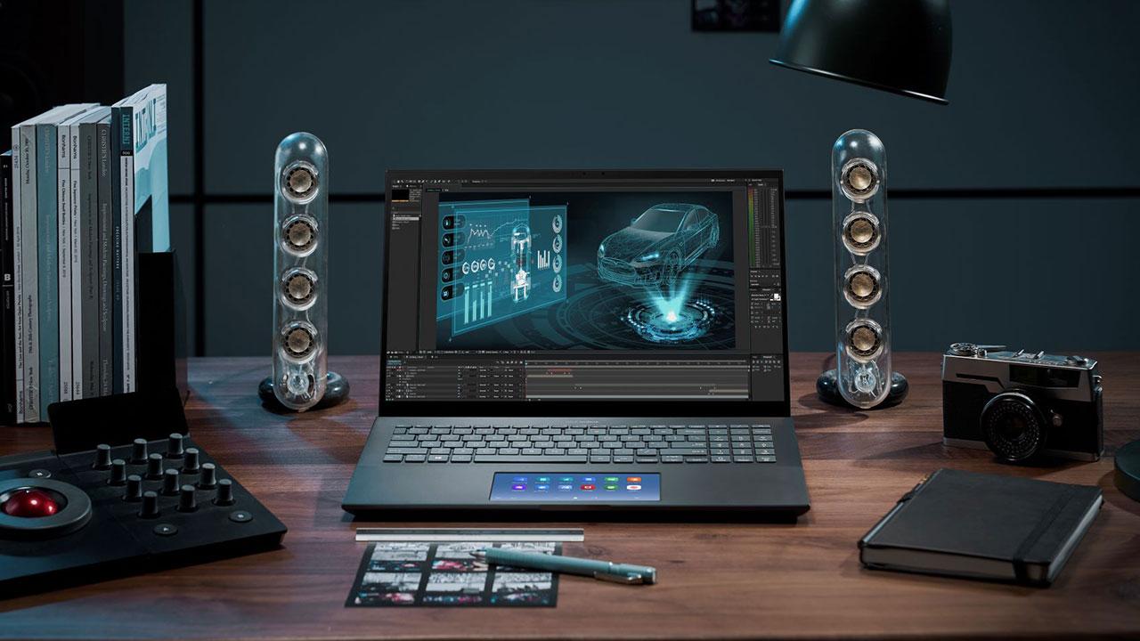 ASUS ZenBook Pro 15: piccolo portatile, super display OLED thumbnail