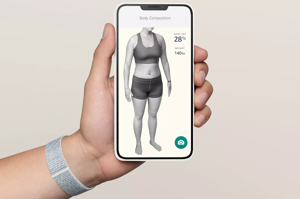 Amazon Halo smarband body scan