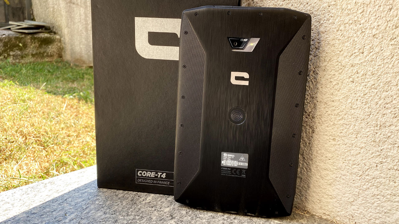Crosscall Core T4 recensione tablet rugged