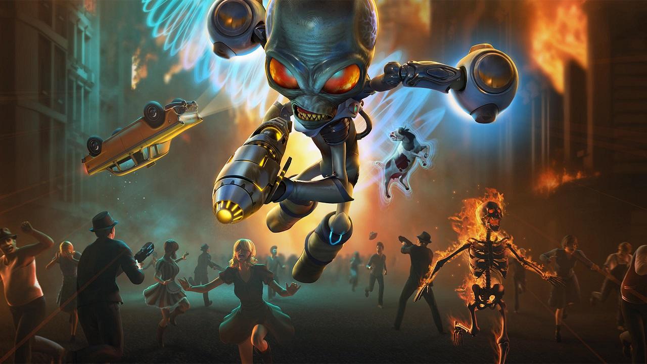 La recensione di Destroy All Humans!, che la caccia all'uomo abbia inizio thumbnail