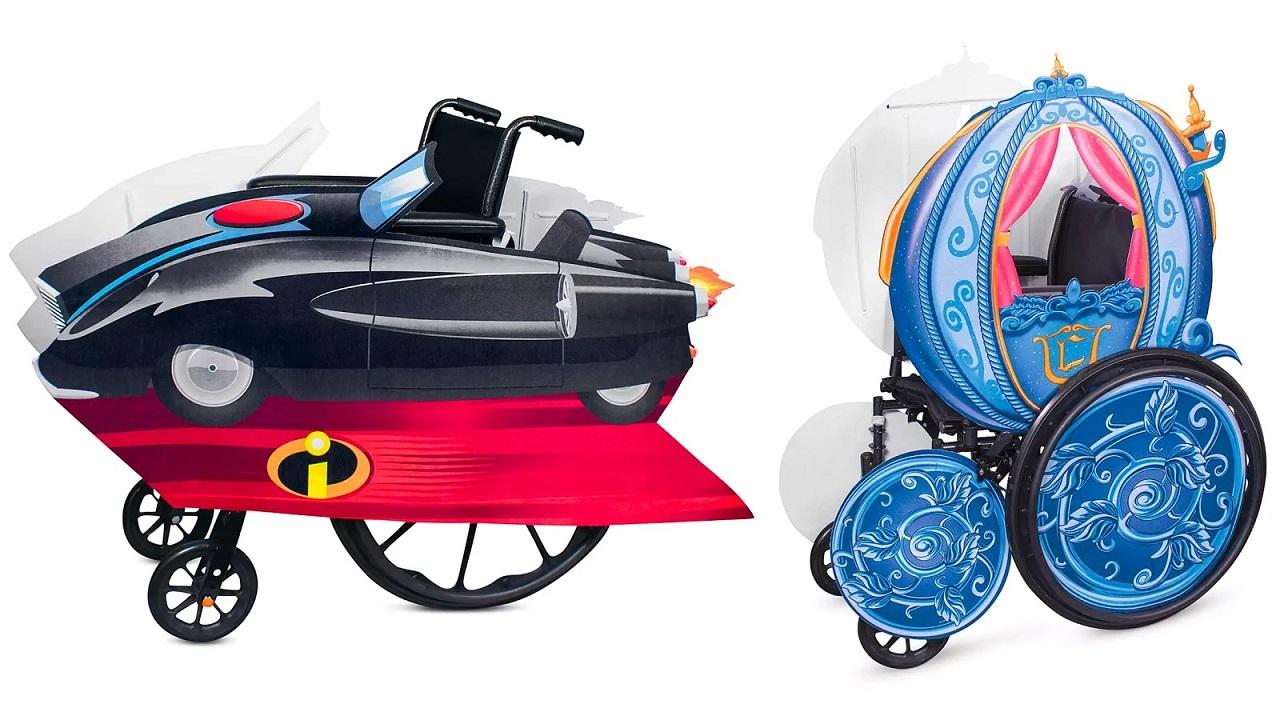 Disney presenta nuovi accessori per personalizzare le sedie a rotelle thumbnail