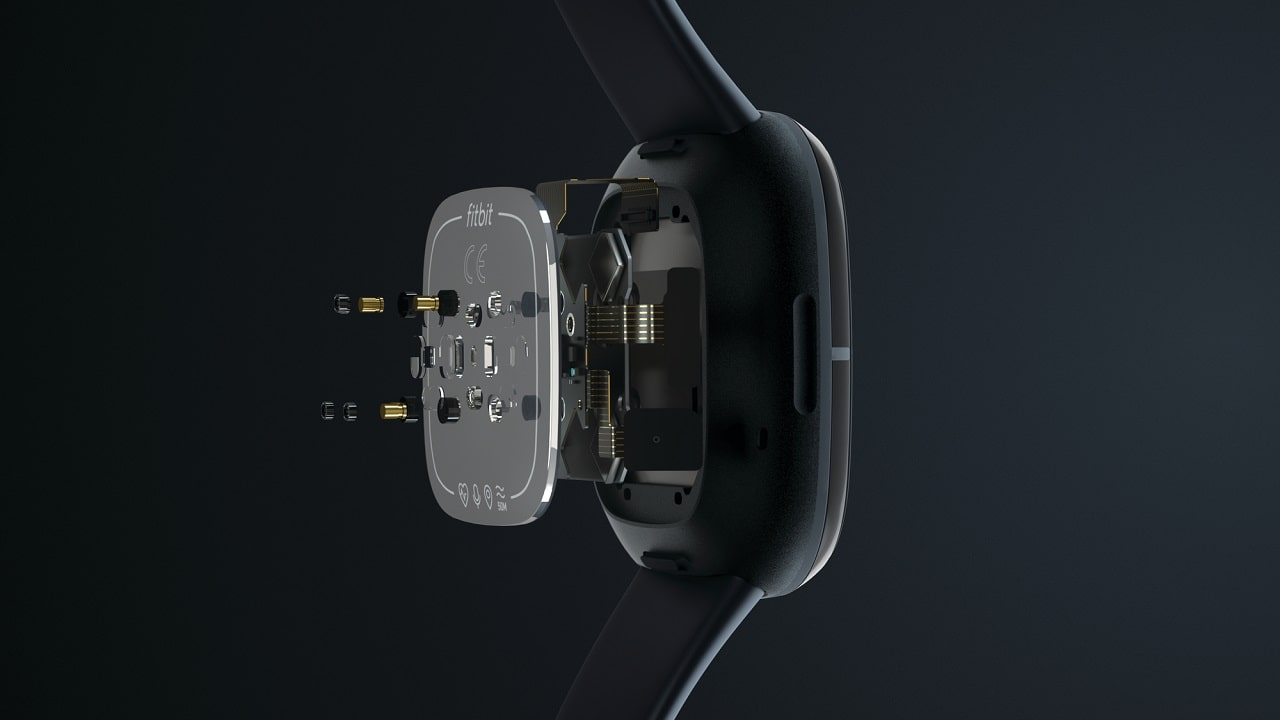 Fitbit sense sensori